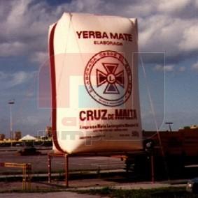 Envase de Yerba (Cruz de Malta)