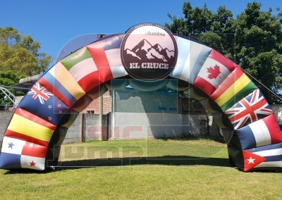 "Arco Inflable ""El Cruce 2016"""