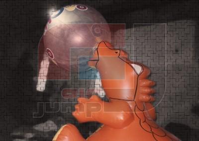 Mascota Dinovo (Arcor)