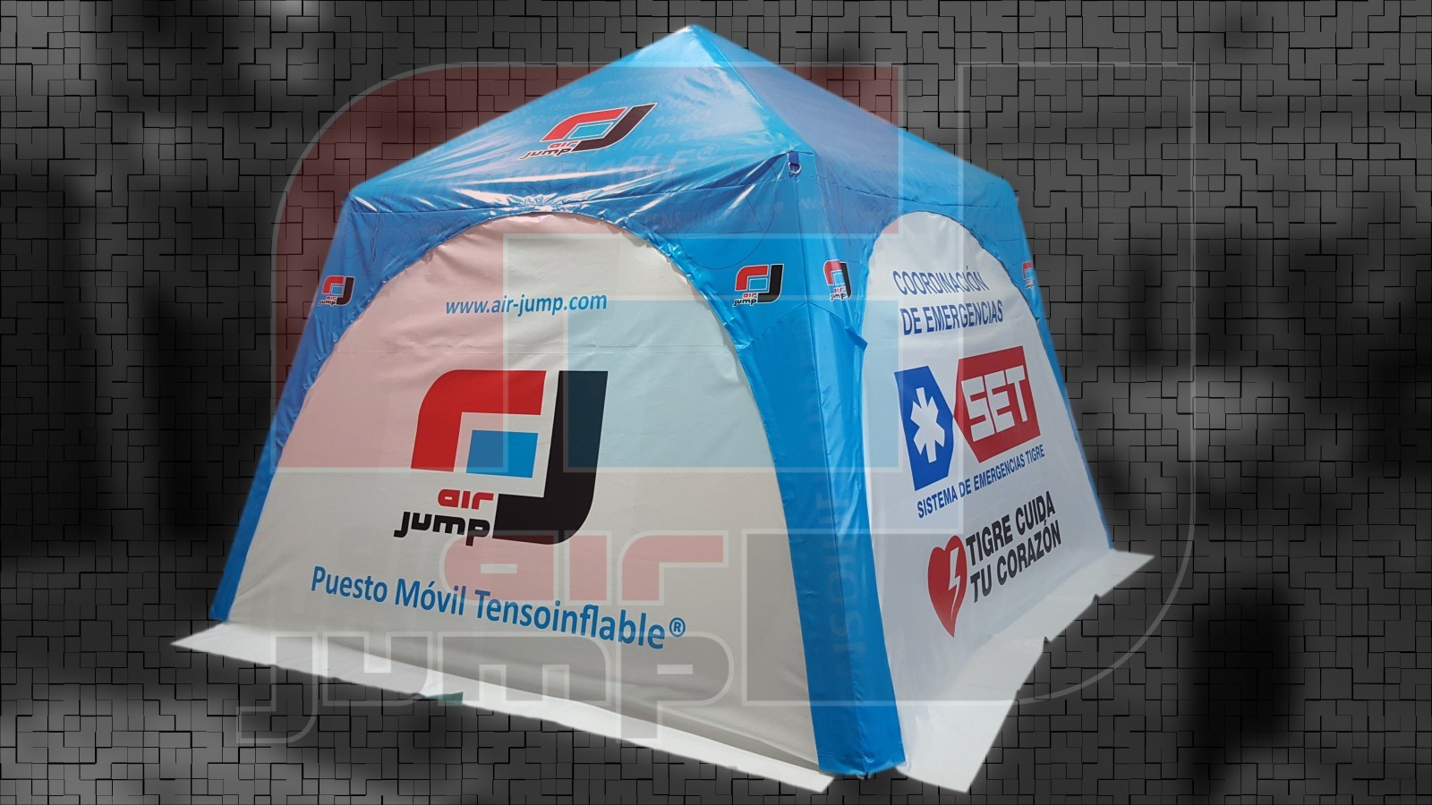 gacebo tensoinflable con paredes