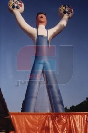 inflable gigante uoyep