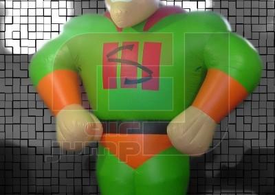 Mascota Superhéroe (Supermercado)