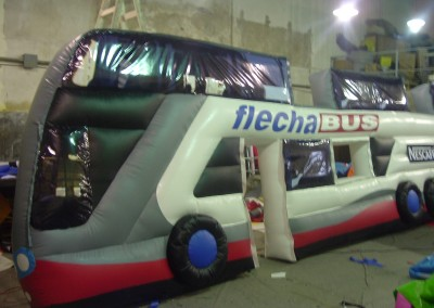 Omnibus Inflable – Flechabus