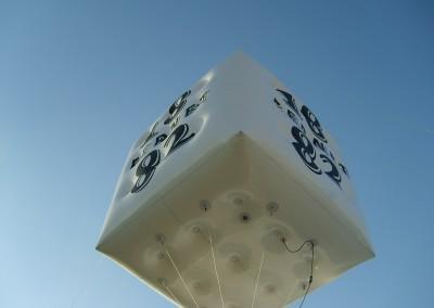 Cubo Aerostático (Fernet 1882)
