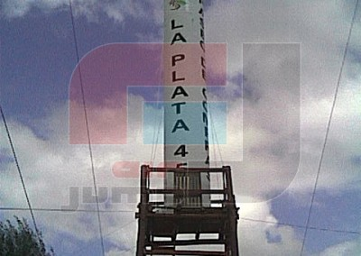 Columnas Inflables (Paseo La Plata 45)