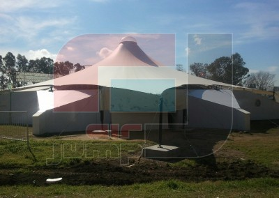 Conoide de 35m x 35m (Secretaría de Cultura)